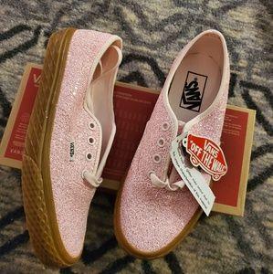 VANS Authentic Icecream Glitter Pink Sneakers NIB